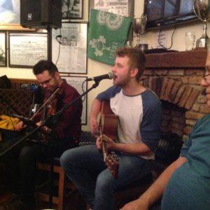David & Brian in Clifden