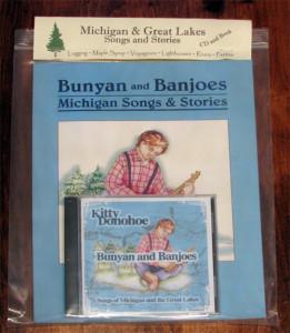 Bunyan & Banjoes Book & CD Package